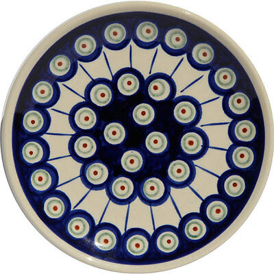 Polish Pottery Plate 6.5 Inch from Zaklady Boleslawiec Polish gu818/8