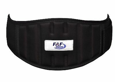 """Weight Lifting Belt Neoprene Gym Fitness Workout 4""""Padded Support Brace for Back"""