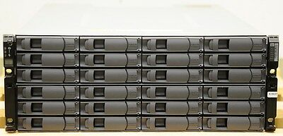 "NetApp DS4246 Disk Shelf mit 24x 3TB 7.2K 6G SATA 3.5"" Hot Swap Festplatten"
