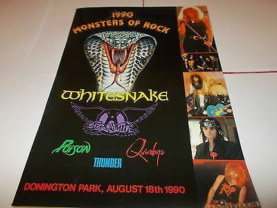 Monsters Of Rock 1990 Tour Programme