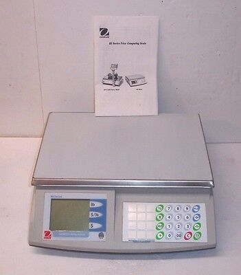 New OHAUS Price Computing Scale, RE Series, Model RE30US - 60lbs Max