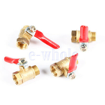 """1*1/4"""" BSP Female to Male Ports Connection Air Brass Pipe Ball Valve WT"""
