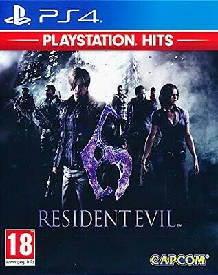 Resident Evil 6 PS4 Playstation 4 Game Brand New Sealed