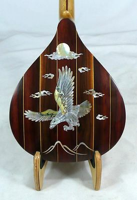 Arch Back Mandolin, Solid Spruce Top Rosewood, Eagle MOP inlay, HardCase NFMIA53