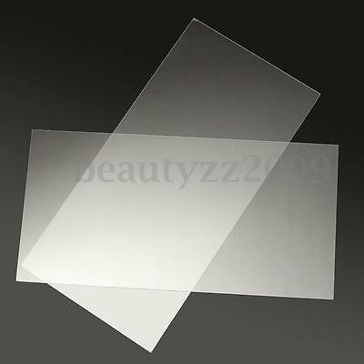 1mm 2mm  200x400mm Acrylic Perspex Sheet Cut to Size Panel Plastic Satin Gloss