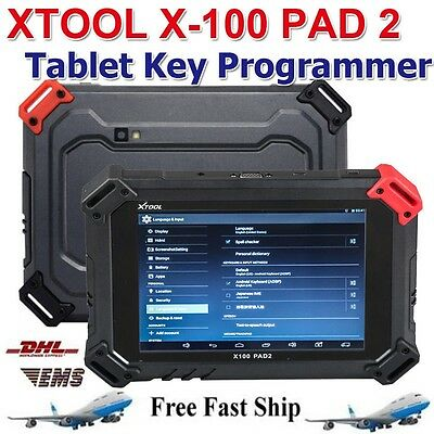 New Upgraded XTOOL X-100 PAD 2 Tablet Auto Programmer Support Powerful Functions