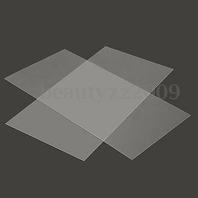 1mm 2mm 300x500mm Acrylic Perspex Sheet Cut to Size Panel Plastic Satin Gloss