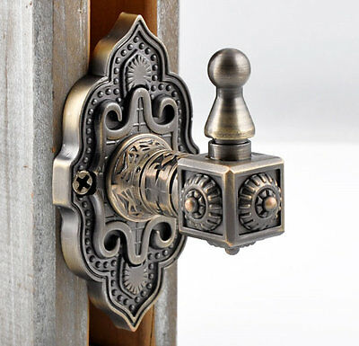 Vintage Style Decorative Wall Hook Curtains Tie Back Coat Hanger Antique Bronze
