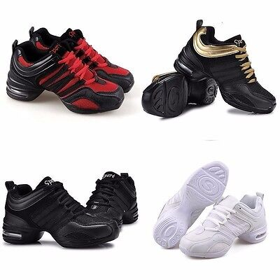 New Women Trendy Athletic Sneakers ComfyShoe Modern Jazz Hip Hop Dance Shoes