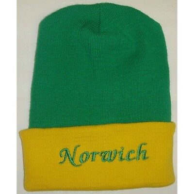 Norwich City Beanie Football Club Winter Hat