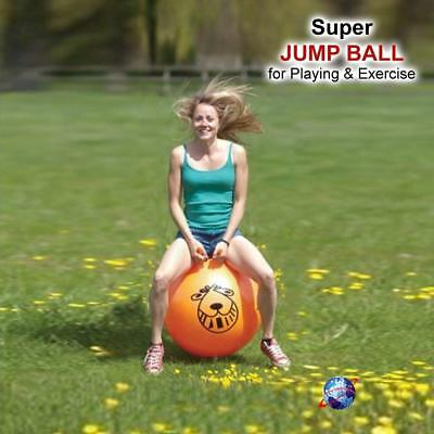 New Retro Space Hopper Exercise Toy Play Large Ball Adult Kids Party Game 60Cm