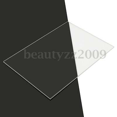 4-10mm A4 210x297mm Acrylic Perspex Sheet Cut to Size Panel Plastic Satin Gloss