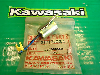 Genuine Kawasaki Kz400 Kz750 Twin Ignition Condenser Pt.no 21013-034