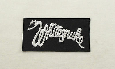 WHITESNAKE  Embroidered Iron On/Sew On Patch  Rock Band