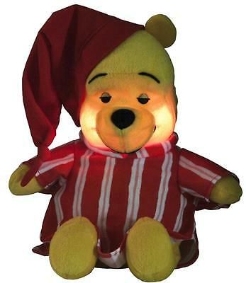 Winnie The Pooh Cuddle n Glow Baby Musical Soft Bedtime Toy Lullaby Night Light