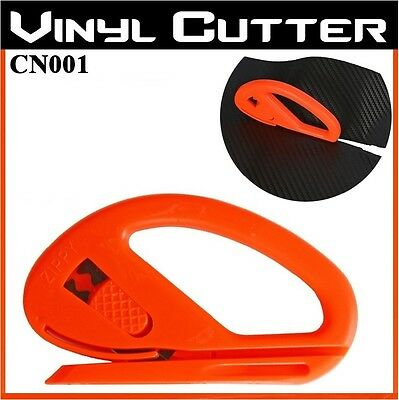 1 PCS Safety Cutter Vinyl Car Wrap Paper Cutting Carbon Fibre Tool With Blade