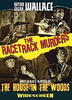 Edgar Wallace's Racetrack Murders / House In The (2015, DVD NUEVO) (REGION 1)