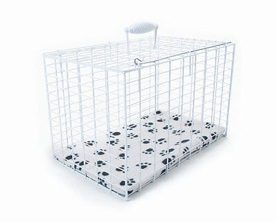 Pennine Rectangular Wire Pet Cat Rabbits & Small Animals Carrier White X Large