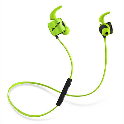 NEW BLUEDIO TE Bluetooth4.1 Wireless Sweatproof Headsets iPhone Sports Earphones