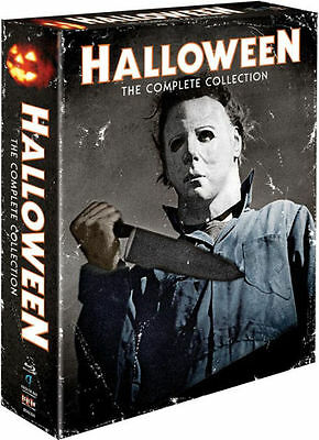 HALLOWEEN COMPLETE COLLECTION - BLU RAY - Region A - Sealed