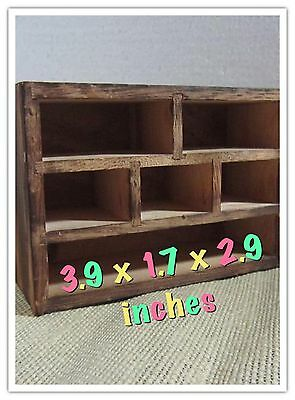 Antique Cabinet Mini Six Grid World Wide Shipping