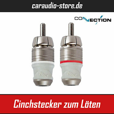 Audison Connection BCP.100 - Cinchstecker zum Löten