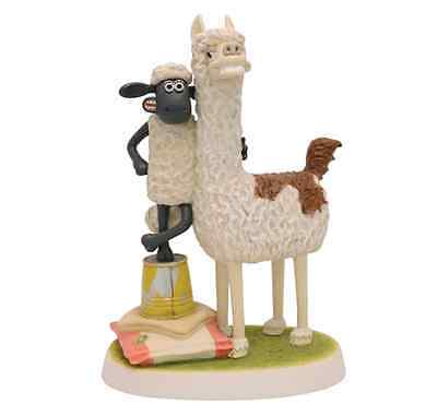Harrop Aardman Shaun The Sheep Farmers Llamas 300 Limited Edition 19cm WG25