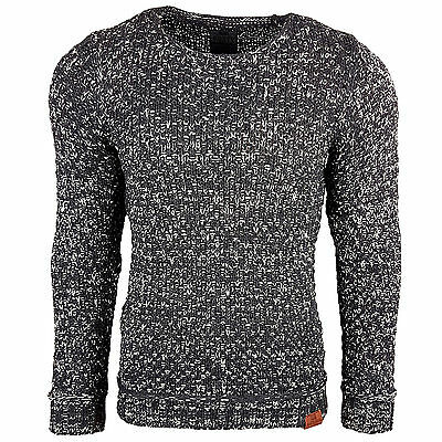 Subliminal Mode - Pull Grosse Maille Homme Tricot SB-13246 Petite Maille
