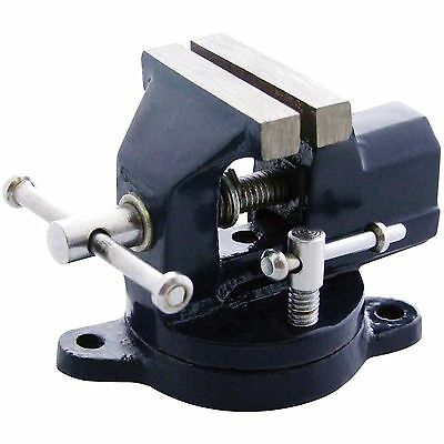 "Am-Tech 2"" 50mm Revolving Swivel Mini Vice Model Making Bench Table Clamp Small"