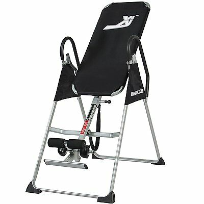 New Inversion Table Chiropractic Table Exercise Back Massage Relief Reflexology