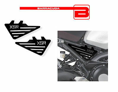 BARRACUDA 2 SIDE COVERS side ALUMINUM ANODIZED BLACK for YAMAHA XSR 900