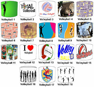 Lampshades Ideal To Match Volleyball Wall Decals & Stickers & Volleyball Duvets