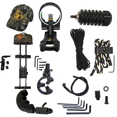 Upgrade Compound Bow Archery Combo Accessories Bow Kit Stabilizer Releases Aid