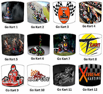 Go Karting Go Kart Racing Lampshades Ideal To Match Go Kart Wallpaper Wall Mural