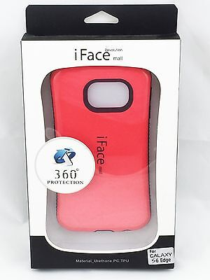 iFace Shockproof Heavy Hard Case Cover for Samsung Galaxy S6 Edge Red