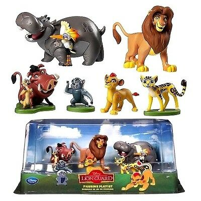DISNEY FIGURE SETS  LION KING / GUARD or BEAUTY and THE BEAST