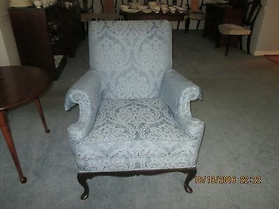 Antique Baker Upholstered Chairs