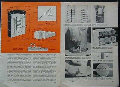 Electric Kiln Furnace Ceramics & Anneal 2300 deg How-To build PLANS