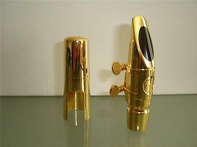 New Gold Plated Metal Mouthpiece for Alto Saxophone....+ Wide range of Saxes