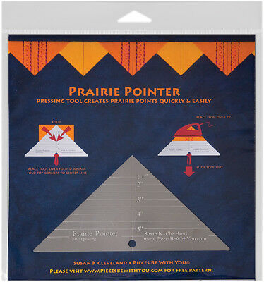 Prairie Pointer Pressing Tool-        , Pk 1, Pieces Be With You