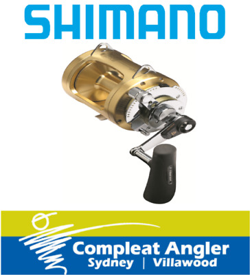 Shimano Tiagra 80W Game Fishing Reel BRAND NEW At Compleat Angler