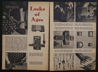 Antique *Locks of Ages* vintage Historial pictorial 1600's-1900's Roman Colonial