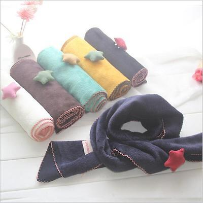 Fashion Lovely Stars Pattern Winter Autumn Warmer Scarves Scarf Kid Gifts