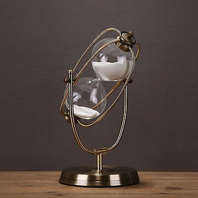 30 Minute Hourglass Rotating Sandglass Timer Clock Christmas Gift Decoration