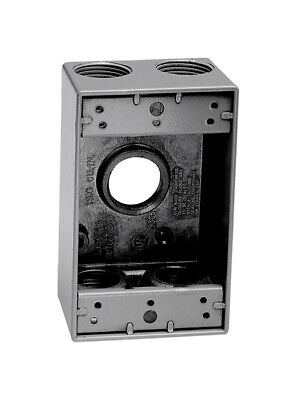 """Outlet Box 1G 5H1/2"""" Gry By Sigma Mfrpartno 14251-5"""