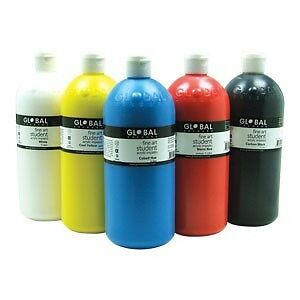 Global Colours Student Acrylic Paints