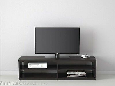 Black CAVANI Wooden TV Stand Cabinet Entertainment Unit Shelf Cupboard NEW*