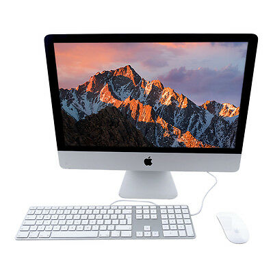 """Apple iMac 21.5"""" i3 3.06 GHZ 4GB Ram 500GB HDD Magic Keyboard and Mouse2 GRADE A"""