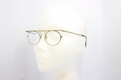 LesPuces Gouverneur Audigier Vintage Oval Eyeglasses France 50mm Graphicus Antiq