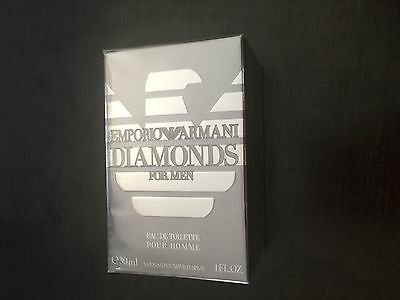 Emporio Armani Diamonds, For Men, Eau De Toilette , 30 Ml,spray.